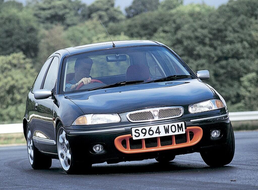 Rover 200 BRM, con aires de Fórmula 1 retro