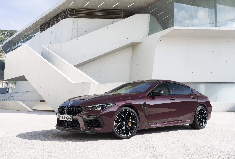 BMW M8 Gran Coupé, una berlina deportiva con diseño demoledor