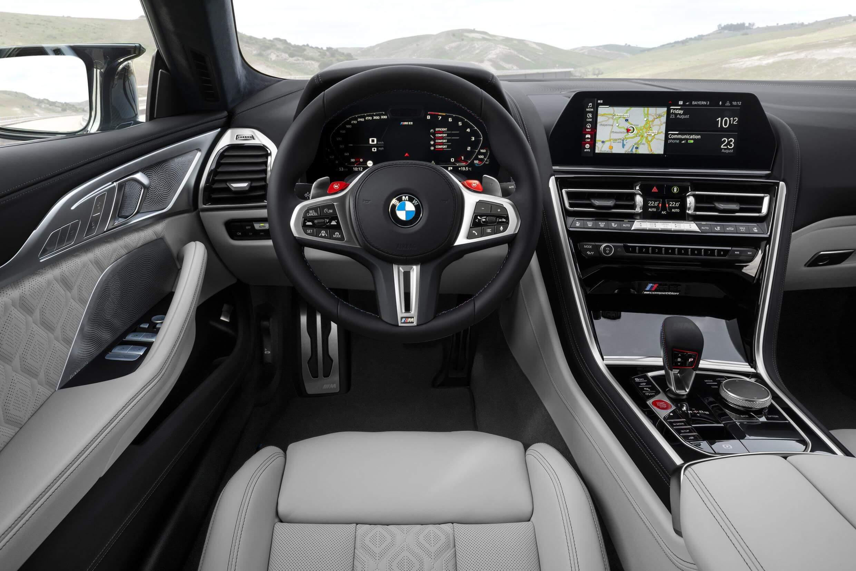 Interior del BMW M8 Gran Coupé