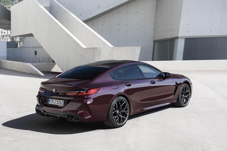 Trasera del BMW M8 Gran Coupé
