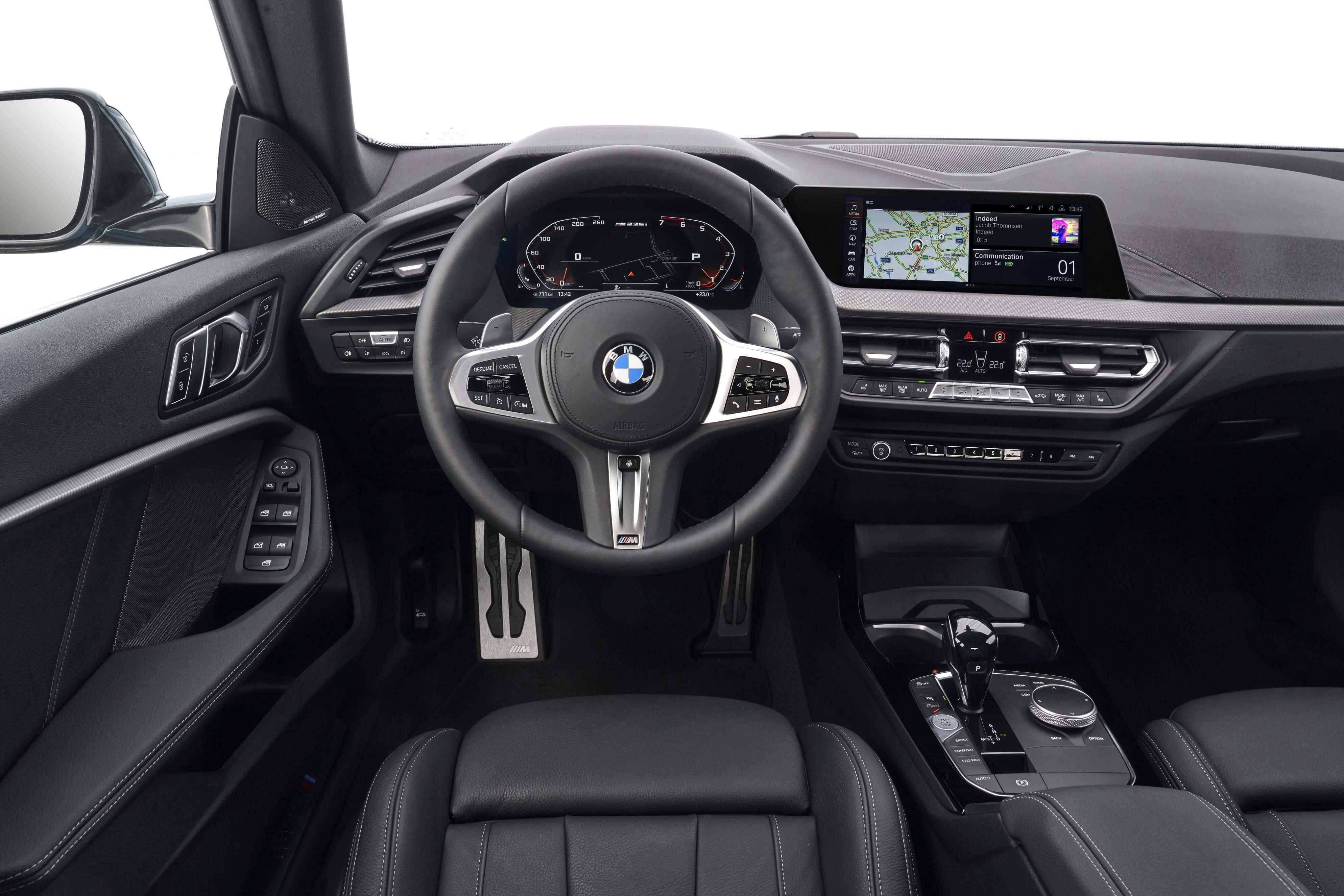Interior del BMW Serie 2 Gran Coupé.