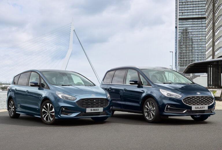 Ford renueva su gama de monovolúmenes con los nuevos S-MAX y Galaxy 2020