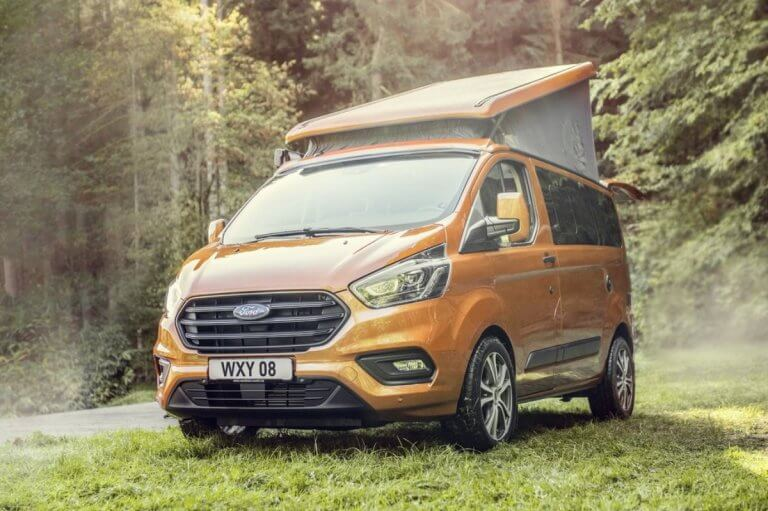 Ford Transit Custom Nugget 2020, la libertad sobre ruedas