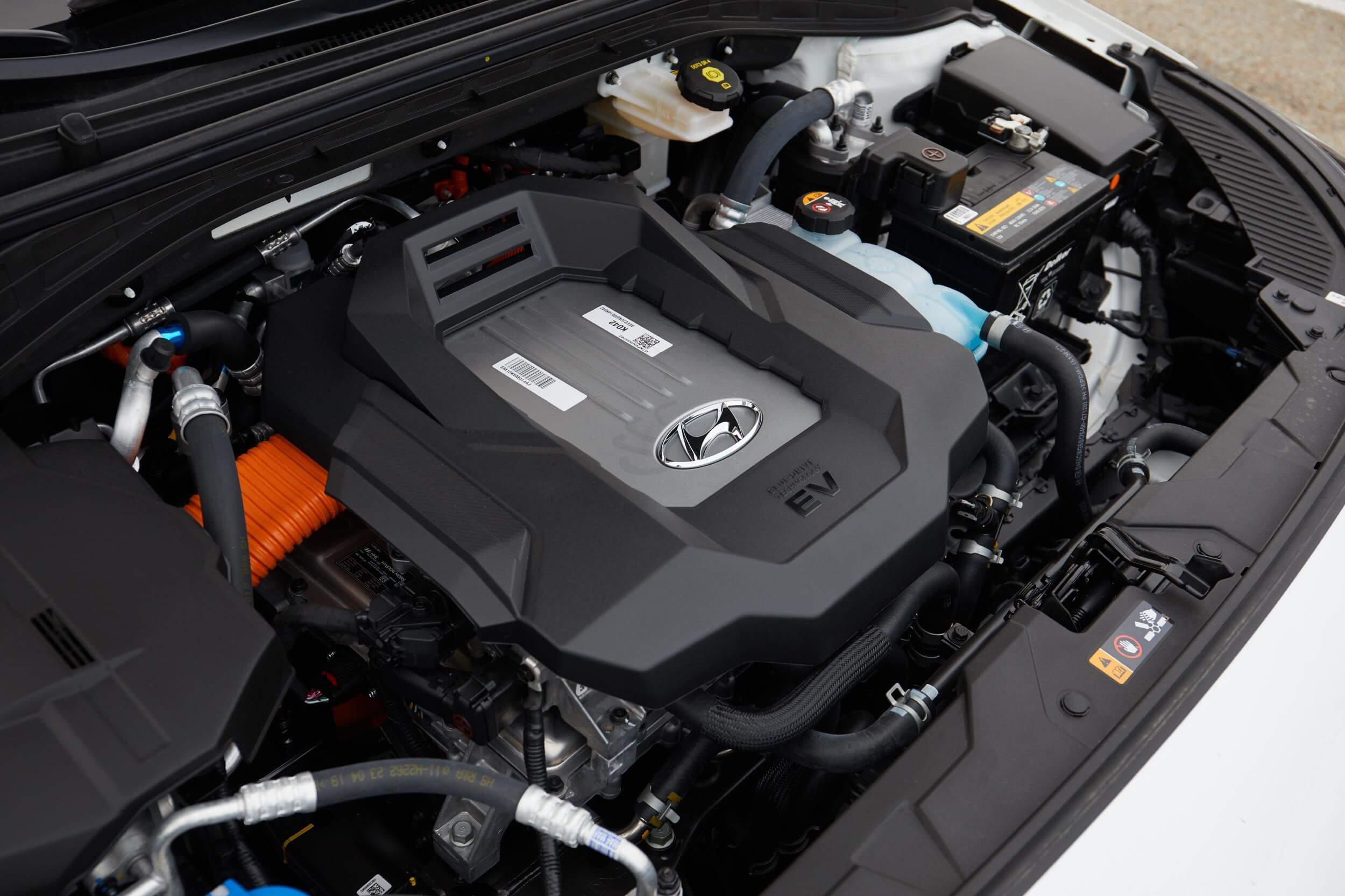 Motor del Hyundai Ioniq Eléctrico