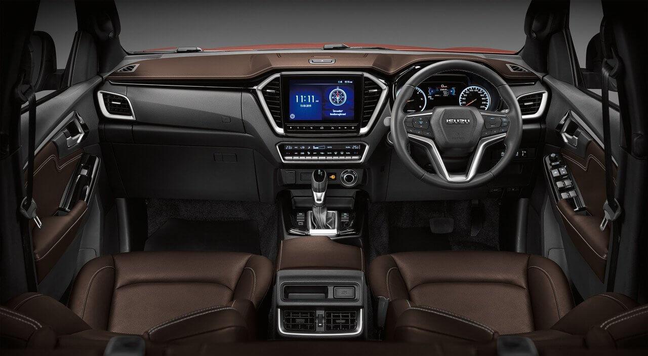 Isuzu D-Max 2020: interior.