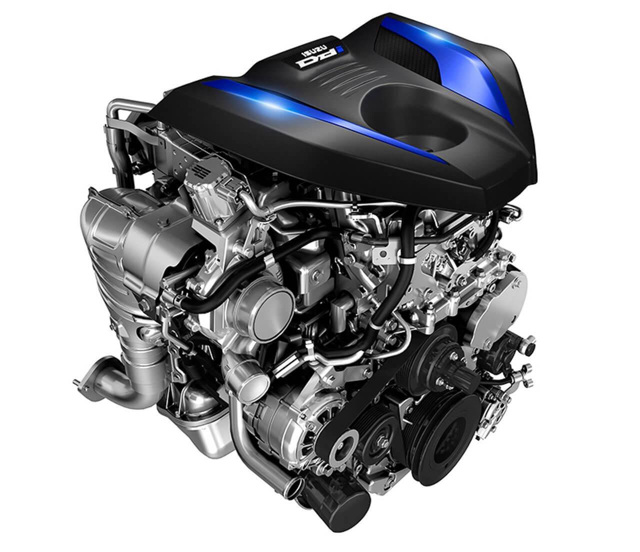 Isuzu D-Max 2020: motor.