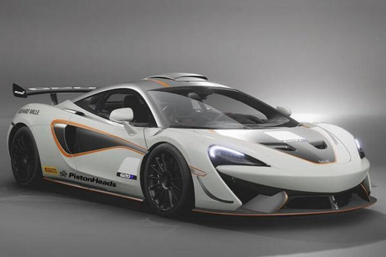 McLaren 620R, el juguete preferido de los pilotos