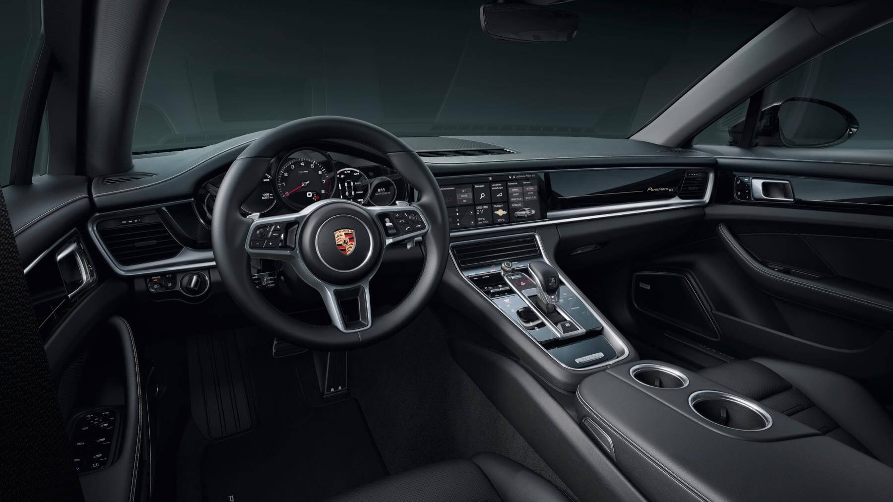 Interior del Porsche Panamera 10 Years Edition