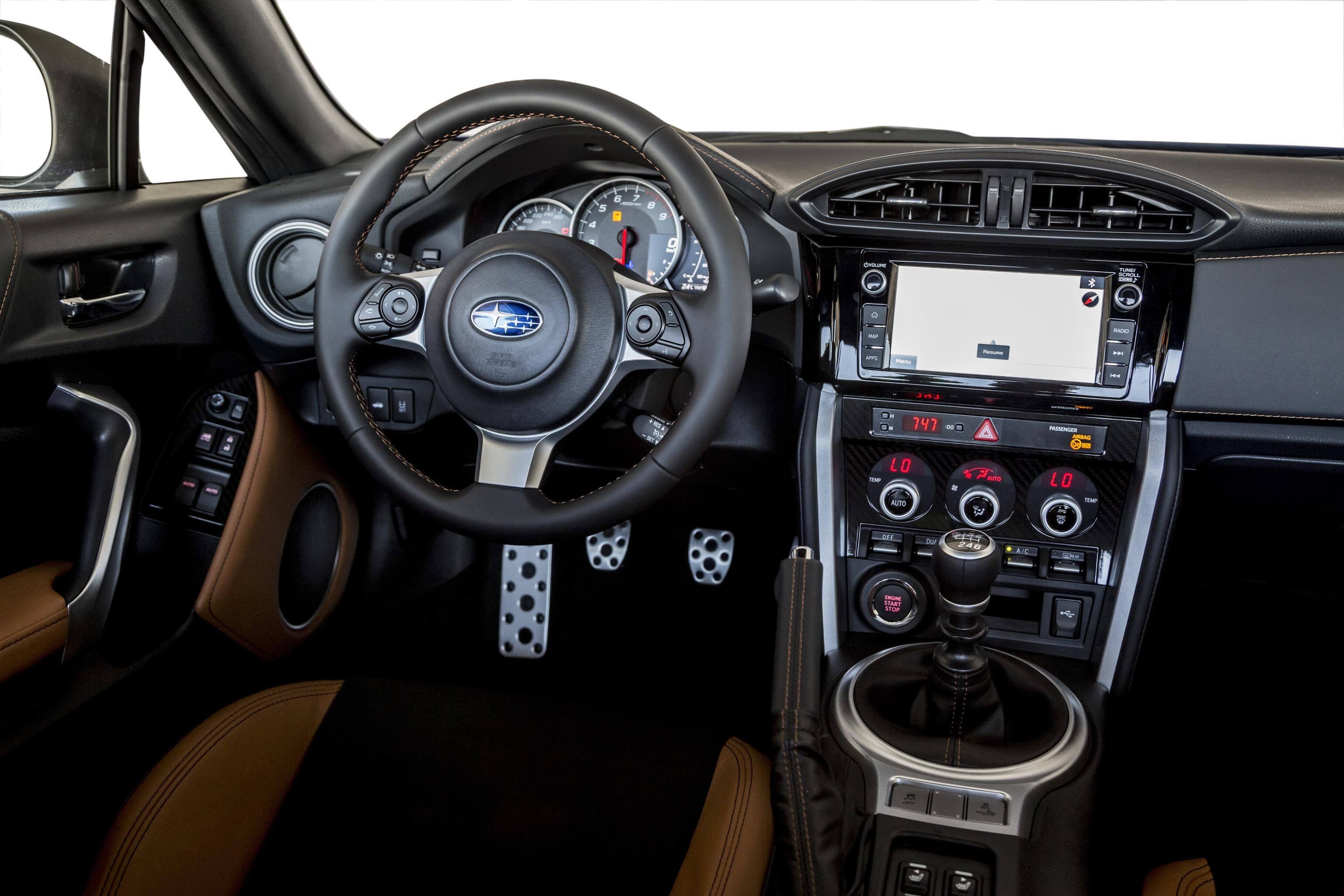 Interior del Subaru BRZ Special Edition