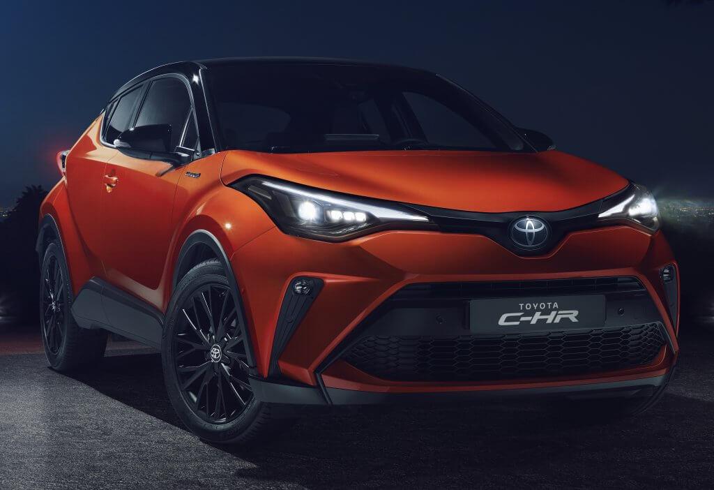 Toyota C-HR 2020, ahora con más potencia