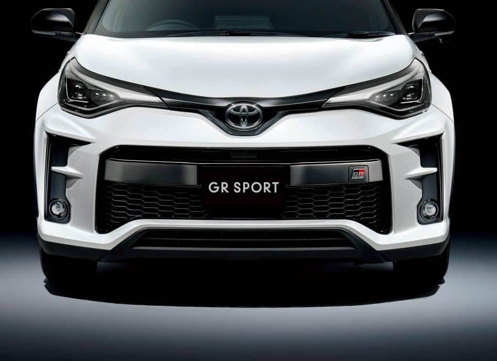Toyota C-HR GR Sport, parrilla.