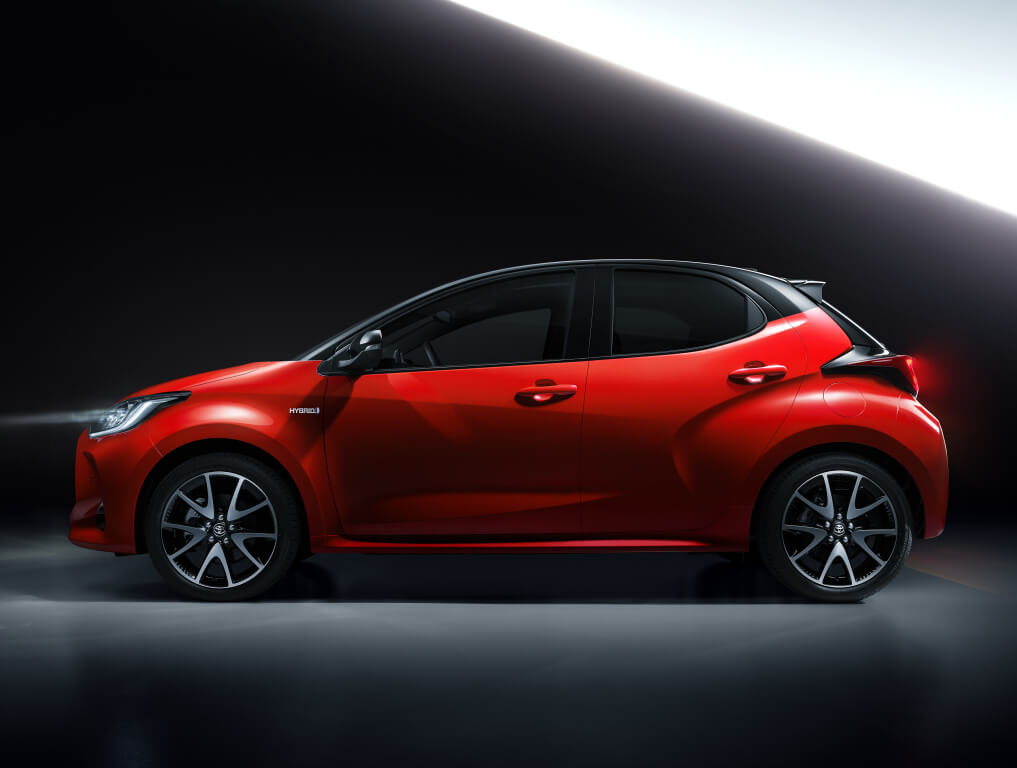 Toyota Yaris 2020: perfil.