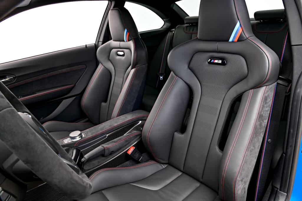 BMW M2 CS: interior.