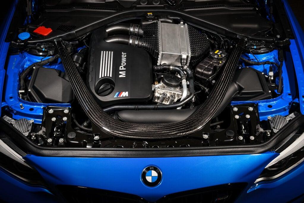 BMW M2 CS: motor