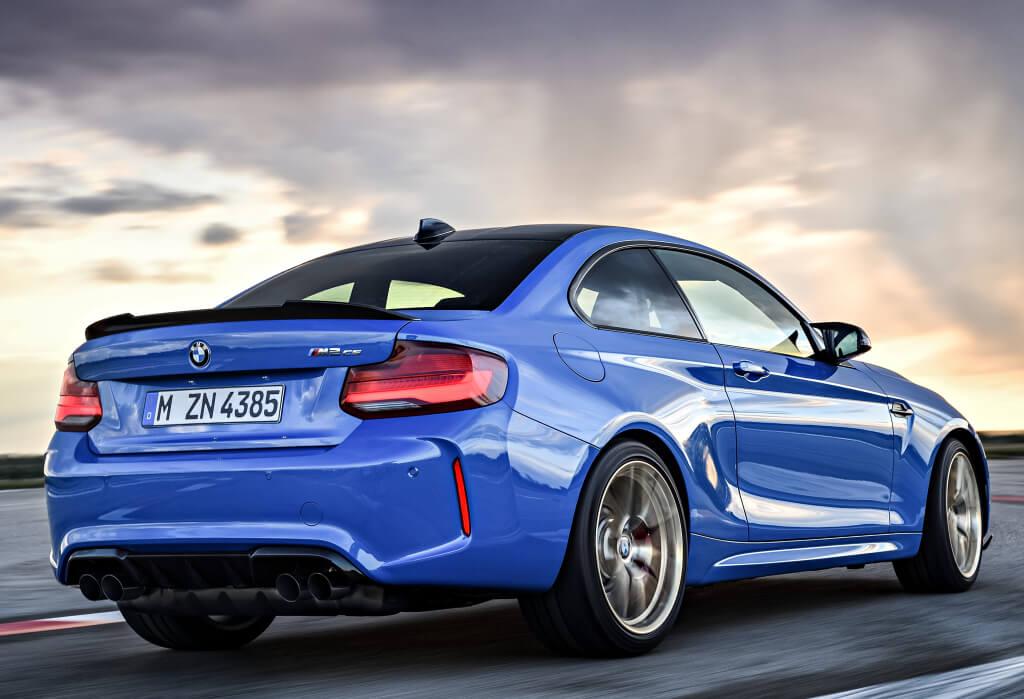 BMW M2 CS: zaga.