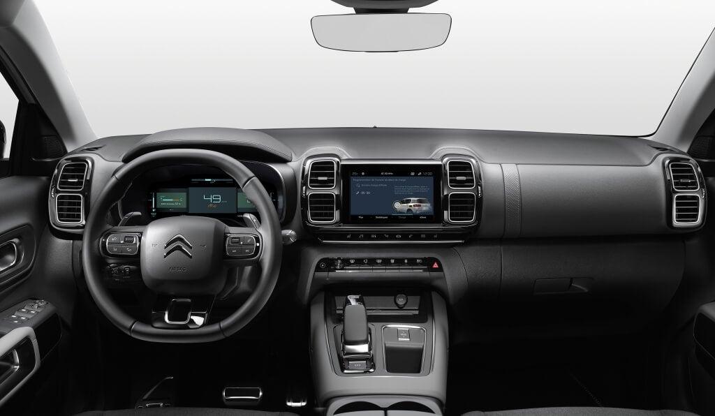 Citroën C5 Aircross Hybrid, interior.