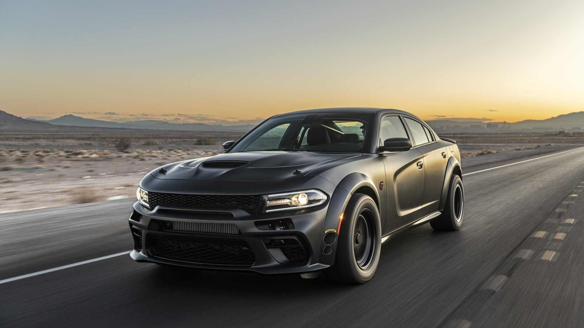 Dodge Charger SpeedKore: frontal.