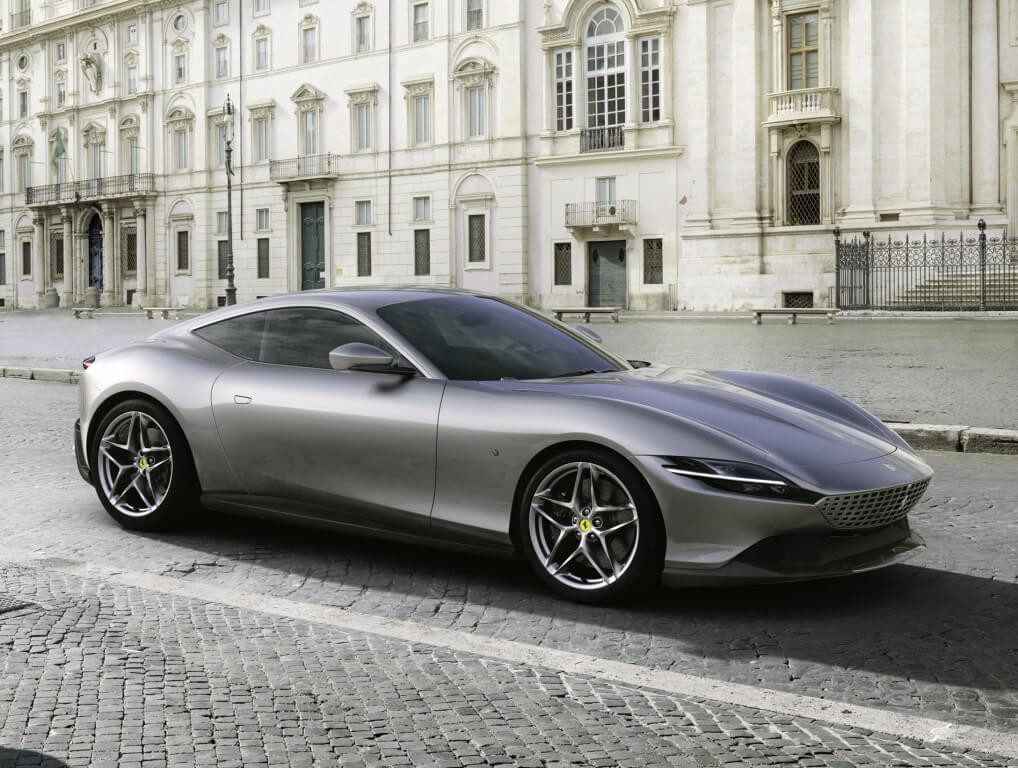 Ferrari Roma, la elegancia y deportividad se dan la mano en formato GT