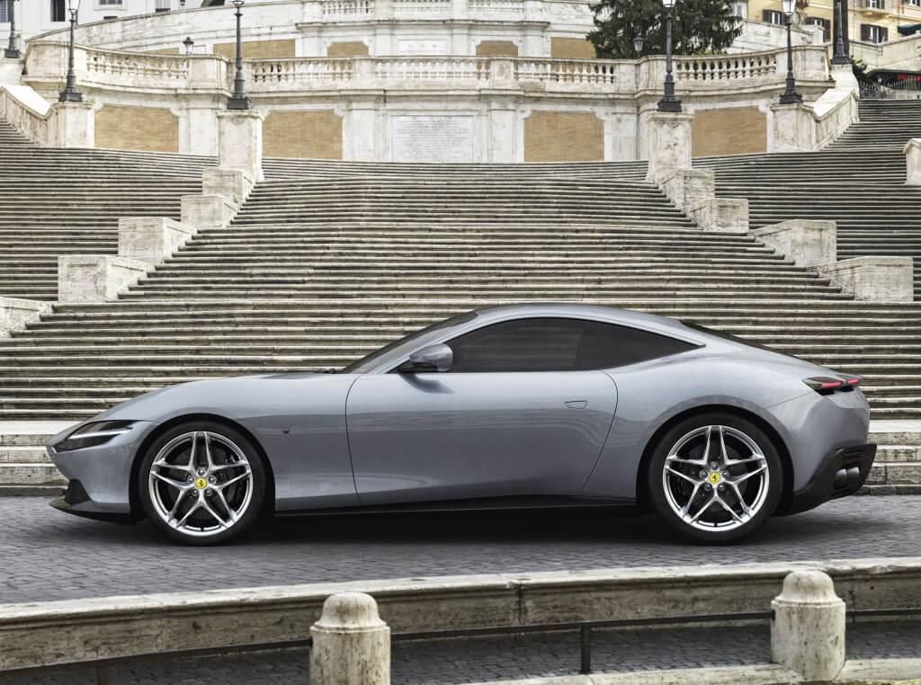Ferrari Roma: perfil.