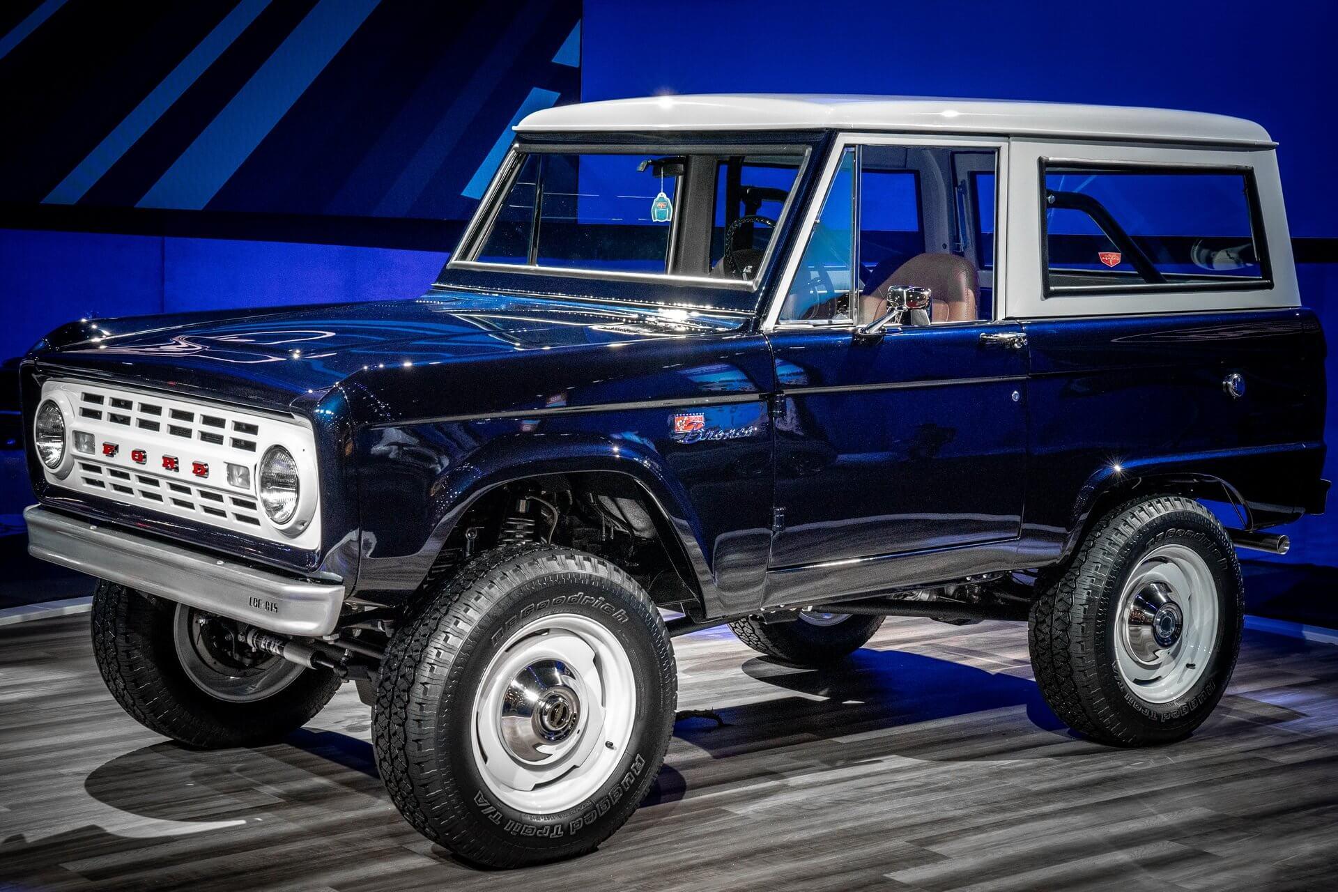 Frontal del Ford Bronco Predator, en el SEMA Show 2019
