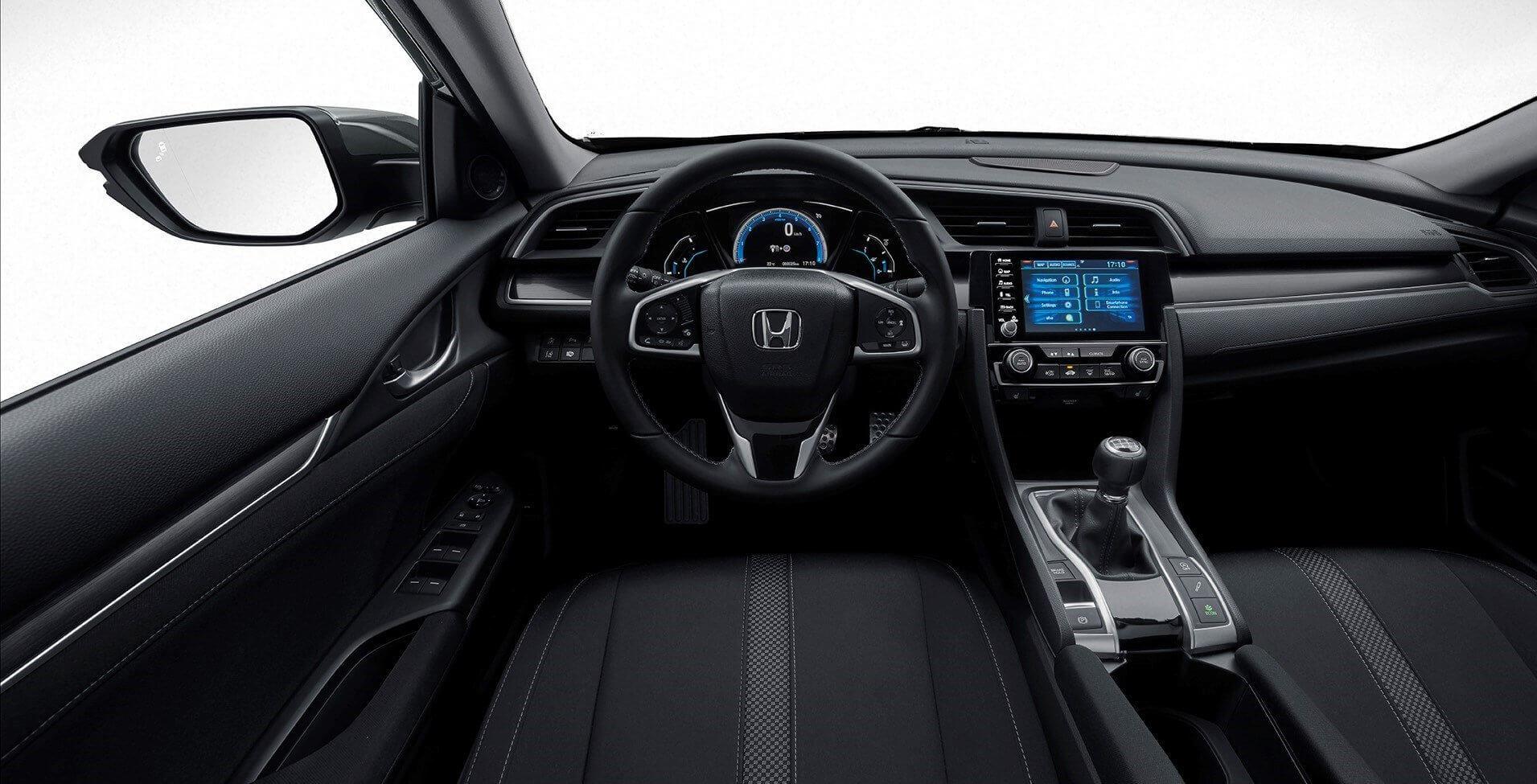 Honda Civic 2020: interior.