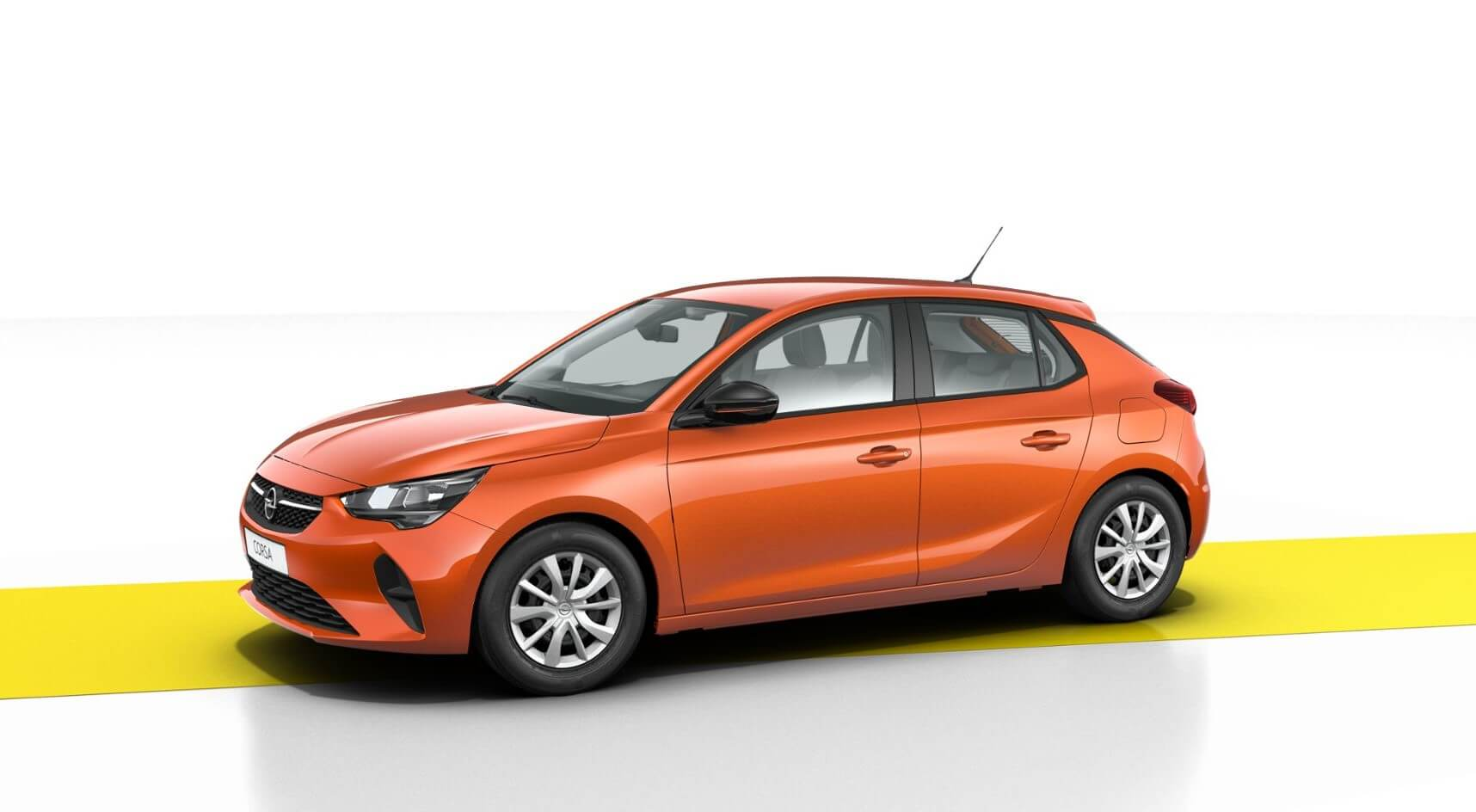 Opel Corsa Edition: frontal.