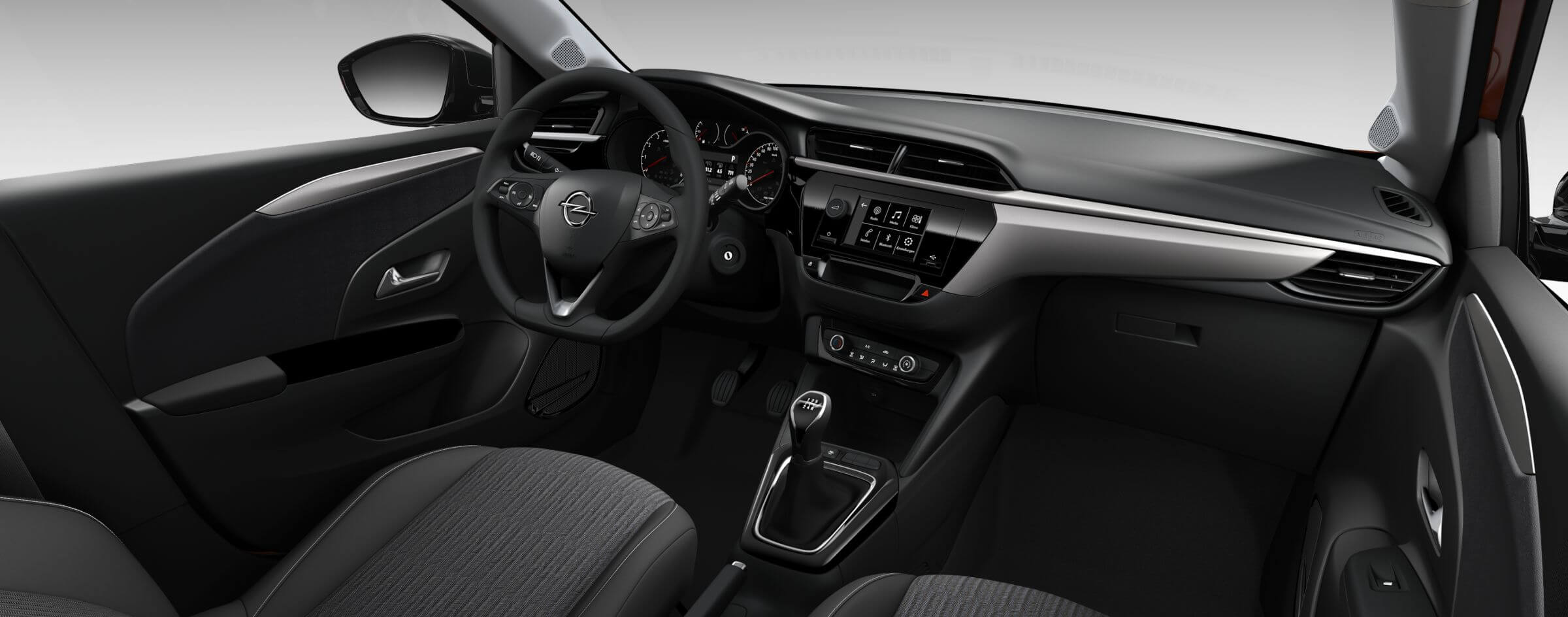 Opel Corsa Edition: interior.