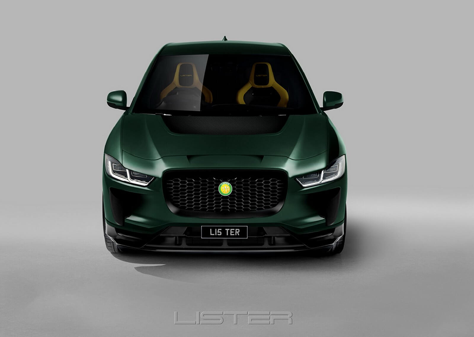 Jaguar I-Pace Lister: frontal.