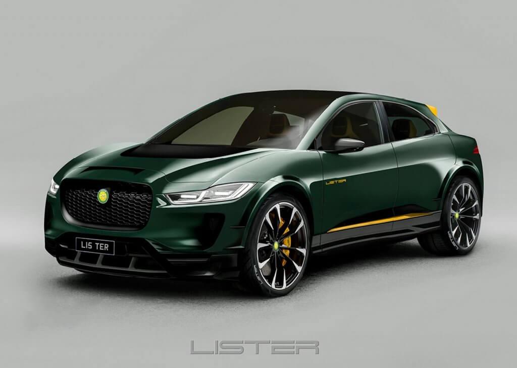 Jaguar I-Pace Lister, el crossover deportivo eléctrico de origen británico
