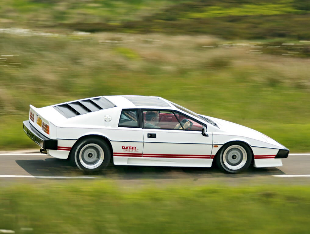 Lotus Esprit Turbo.