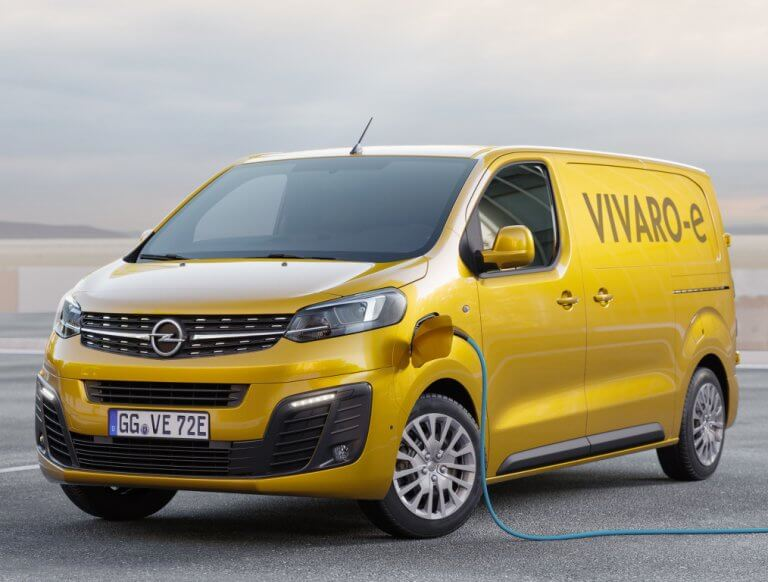 Opel Vivaro-e, el repartidor silencioso