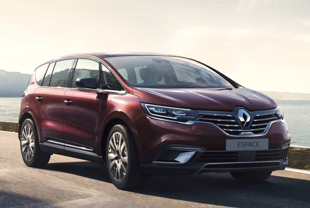 Renault Espace 2020: frontal.