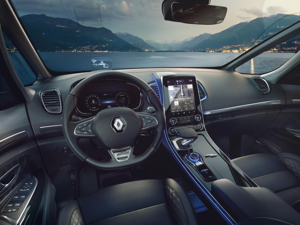 Renault Espace 2020: interior.