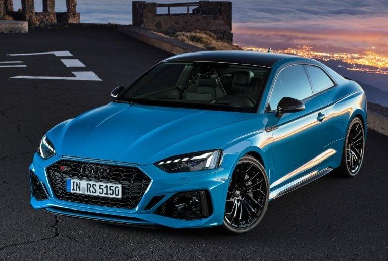 Audi RS5 2020: cambios a cuentagotas