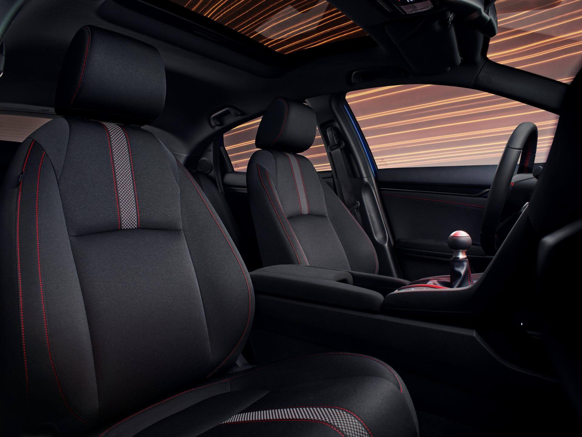 Honda Civic Sport Line 2020: interior.