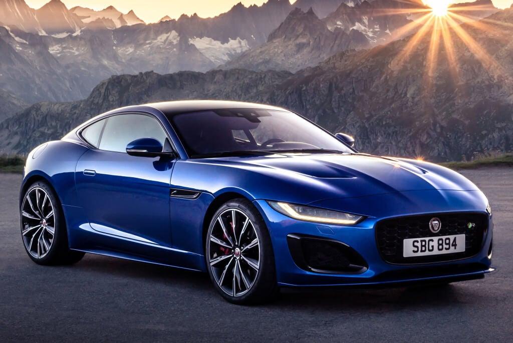 Diseño exterior dl Jaguar F-Type 2020.