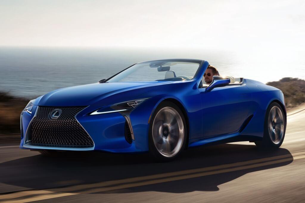 Lexus LC 500 Convertible, alcanzando un nuevo nivel de belleza