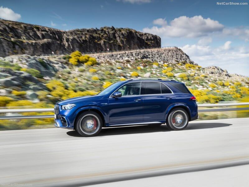 Mercedes-AMG GLE 63, lateral.