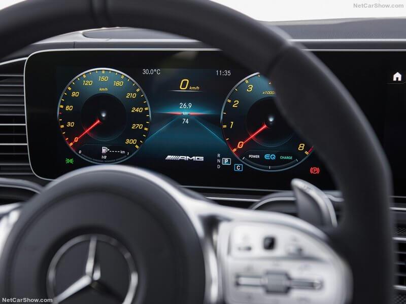 Mercedes-AMG GLS 63, cuadro de instrumentación.