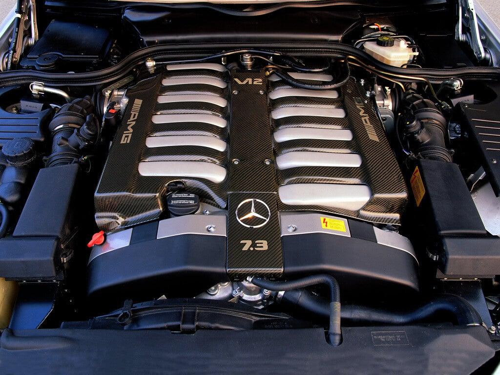 V12 7.3 AMG: motor.