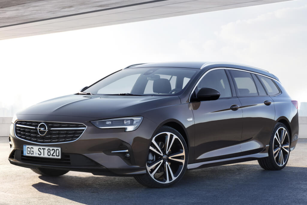 Opel Insignia Sports Tourer: frontal.