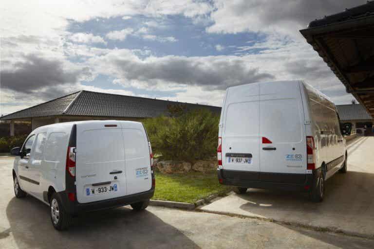 Los Renault Kangoo y Master Z.E., ahora motorizados con hidrógeno