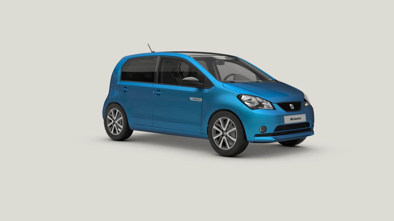 SEAT Mii Electric Plus: frontal.