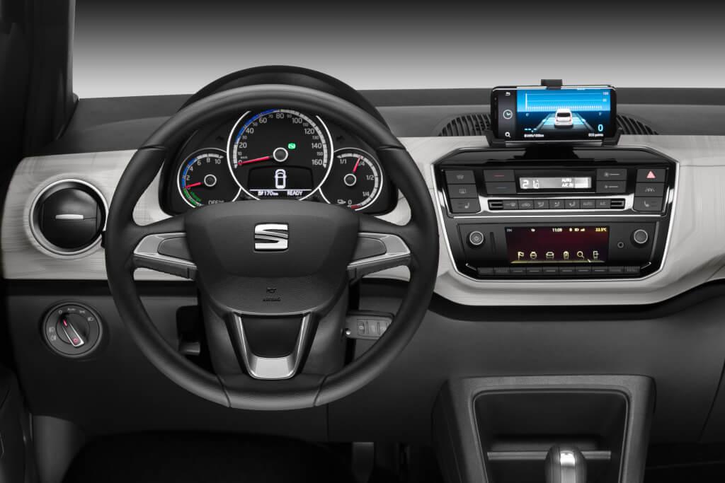 SEAT Mii Electric Plus: interior.