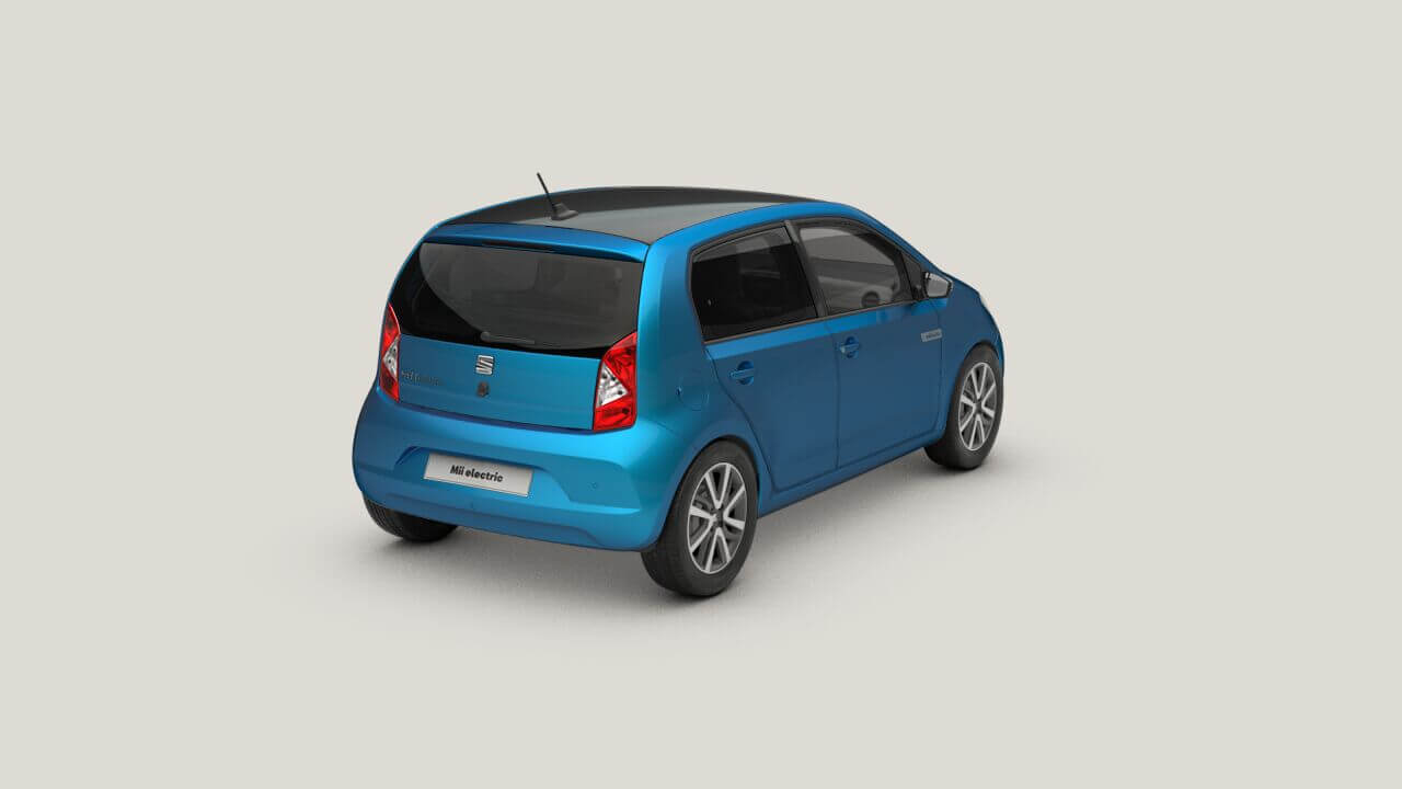 SEAT Mii Electric Plus: trasera.