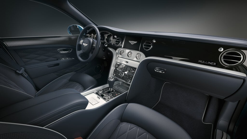 Bentley Mulsanne 6.75 Edition by Mulliner, interior.