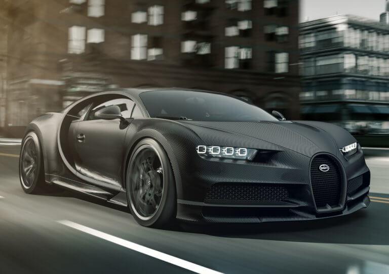 Bugatti Chiron Noire, el lado oscuro del lujo