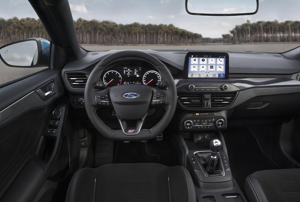 Interior del Ford Focus.