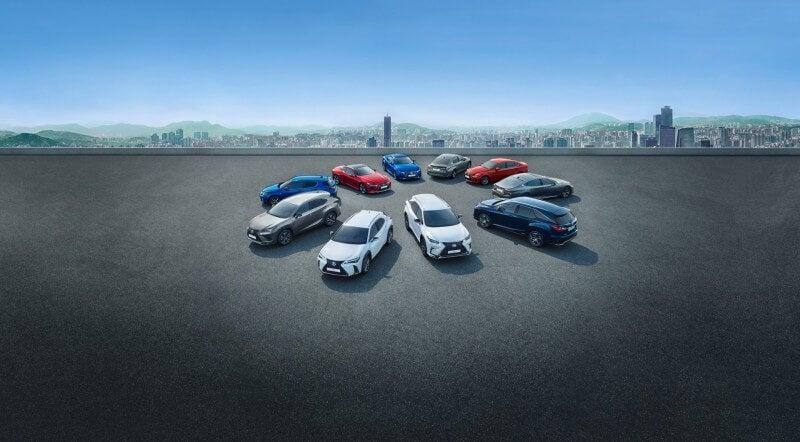 Gama Lexus.