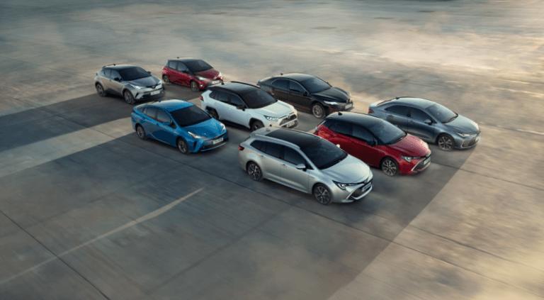 El grupo Toyota, líder en la venta de híbridos en España en 2019